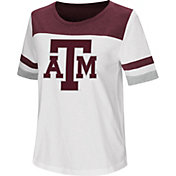 Colosseum Women's Texas A&M Aggies Show Me The Money White T-Shirt