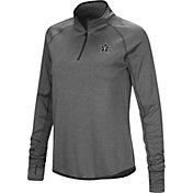 Colosseum Women's Vanderbilt Commodores Grey Shark Quarter-Zip Shirt