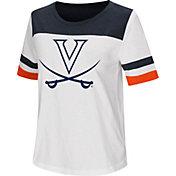 Colosseum Women's Virginia Cavaliers Show Me The Money White T-Shirt