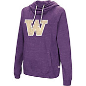 Colosseum Women's Washington Huskies Purple I'll Go With You Pullover Hoodie