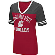 Colosseum Women's Washington State Cougars Crimson/Grey The Whole Package T-Shirt