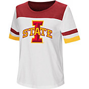 Colosseum Women's Iowa State Cyclones Show Me The Money White T-Shirt