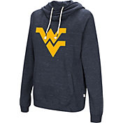 Colosseum Women's West Virginia Mountaineers Blue I'll Go With You Pullover Hoodie