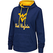 Colosseum Women's West Virginia Mountaineers Blue Pullover Hoodie