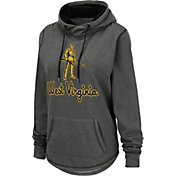 Colosseum Women's West Virginia Mountaineers Grey Pullover Hoodie