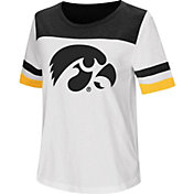 Colosseum Women's Iowa Hawkeyes Show Me The Money White T-Shirt