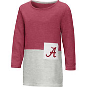 Colosseum Youth Girls' Alabama Crimson Tide Crimson/Grey Twizzle Dress