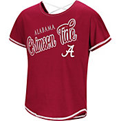 Colosseum Youth Girls' Alabama Crimson Tide Crimson Little Giants Dolman T-Shirt