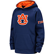 Colosseum Youth Auburn Tigers Blue Pullover Hoodie