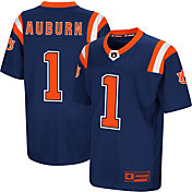 Colosseum Youth Auburn Tigers Blue Foos-Ball Football Jersey
