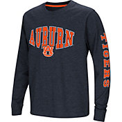 Colosseum Youth Auburn Tigers Blue Spike Long Sleeve T-Shirt