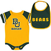 Colosseum Infant Baylor Bears Gold Roll-Out 2-Piece Onesie Set