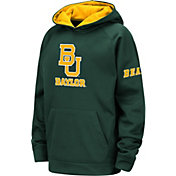 Colosseum Youth Baylor Bears Green Fleece Pullover Hoodie