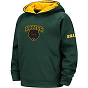 Colosseum Youth Baylor Bears Green Pullover Hoodie