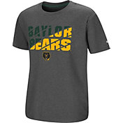 Colosseum Youth Baylor Bears Grey Junior T-Shirt