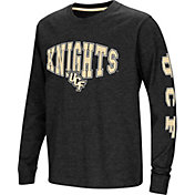 Colosseum Youth UCF Knights Spike Long Sleeve Black T-Shirt