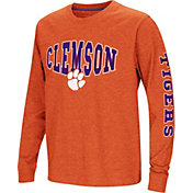 Colosseum Youth Clemson Tigers Orange Spike Long Sleeve T-Shirt