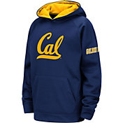 Colosseum Youth Cal Golden Bears Blue Fleece Pullover Hoodie