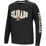 Colosseum Youth Colorado Buffaloes Spike Long Sleeve Black T-Shirt