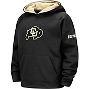 Colosseum Youth Colorado Buffaloes Black Pullover Hoodie