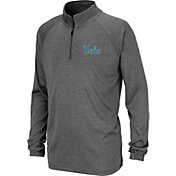 Colosseum Youth UCLA Bruins Grey Quarter-Zip Shirt