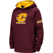 Colosseum Youth Central Michigan Chippewas Maroon Fleece Pullover Hoodie