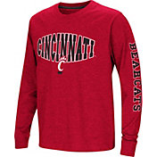 Colosseum Youth Cincinnati Bearcats Red Spike Long Sleeve T-Shirt