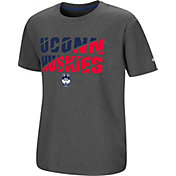 Colosseum Youth UConn Huskies Grey Junior T-Shirt