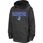 Colosseum Youth Creighton Bluejays Grey Pullover Hoodie