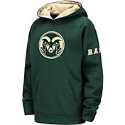 Colosseum Youth Colorado State Rams Green Fleece Pullover Hoodie