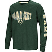 Colosseum Youth Colorado State Rams Green Spike Long Sleeve T-Shirt