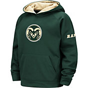 Colosseum Youth Colorado State Rams Green Pullover Hoodie