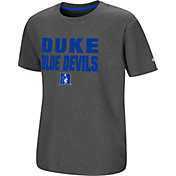 Colosseum Youth Duke Blue Devils Grey Junior T-Shirt