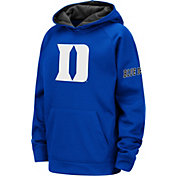 Colosseum Youth Duke Blue Devils Duke Blue Fleece Pullover Hoodie