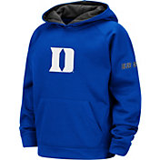 Colosseum Youth Duke Blue Devils Duke Blue Pullover Hoodie