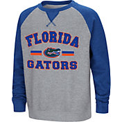 Colosseum Youth Florida Gators Grey/Blue Rudy Zoleteck Fleece Sweatshirt