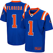 Colosseum Youth Florida Gators Blue Foos-Ball Football Jersey
