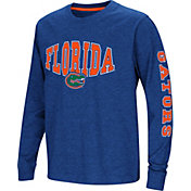 Colosseum Youth Florida Gators Blue Spike Long Sleeve T-Shirt