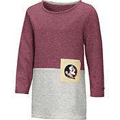 Colosseum Toddler Girls' Florida State Seminoles Garnet/Grey Twizzle Dress