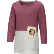 Colosseum Toddler Girls' Florida State Seminoles Garnet/Grey Twizzle Dress