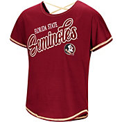 Colosseum Youth Girls' Florida State Seminoles Garnet Little Giants Dolman T-Shirt