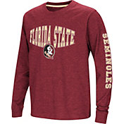 Colosseum Youth Florida State Seminoles Garnet Spike Long Sleeve T-Shirt