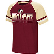 Colosseum Youth Florida State Seminoles Garnet/Gold Rad Tad Raglan T-Shirt