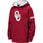 Colosseum Youth Oklahoma Sooners Crimson Pullover Hoodie