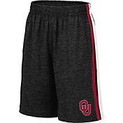 Colosseum Youth Oklahoma Sooners Grey Mendoza Shorts