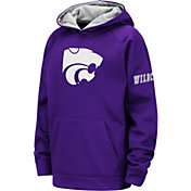 Colosseum Youth Kansas State Wildcats Purple Fleece Pullover Hoodie