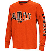 Colosseum Youth Oklahoma State Cowboys Orange Spike Long Sleeve T-Shirt