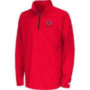 Colosseum Youth Louisiana-Lafayette Ragin' Cajuns Draft Quarter-Zip Shirt