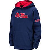 Colosseum Youth Ole Miss Rebels Blue Fleece Pullover Hoodie