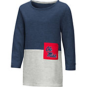 Colosseum Youth Girls' Ole Miss Rebels Blue/Grey Twizzle Dress